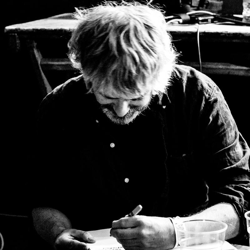 John Bramwell - Handwritten Song Lyric Sheets